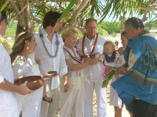 Traditional Hawaiian Blessing Ceremony
